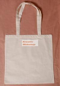 Díszíthető textil bevásárló szatyor