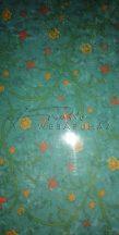 Transzparens papír - Inda mintás virágokkal