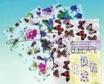 Kreatív hobby - Transzparens papír - Pillangó, méhecskék, katicák és virágok