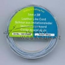 Bőrhatású Szálak, 1mm - Kék