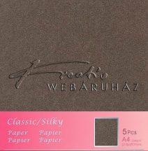 Metál fényű papír - Bronz színű karton 250gr - kétoldalas