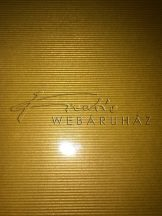 Vonalas papír, arany színű és fényű - 21x30 cm, 120 gr - 5 lap