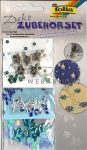 Kreatív hobby - Dekor készlet - Levél, Csillag