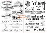 Transzfer papír - Írás és Opera minta - 2 ív A4