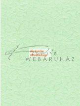 Domborított papír - Pisztácia színű Gyöngyház Inda Papír