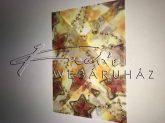 Boríték - Transzparens boríték - Csillag alakú karácsonyfadísz, arany - 3 db-os készlet