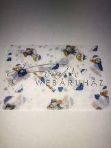 Boríték - Transzparens boríték - Macis, kék, fehér - 3 db-os készlet