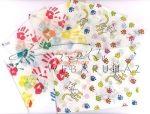 Kreatív hobby - Boríték - Transzparens boríték - Kutya, cica és mancs lenyomat - 6 db
