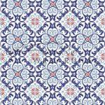 Kreatív hobby - Kartonpapír - Ornament Fresia, kék Karton