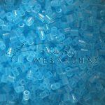 Vasalható dekorgyöngy átlátszó kék