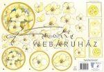 Sárga virágok kezdőknek, Fázisos 3D