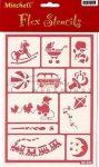Kreatív hobby - Sablon - Játékok, stencil sablon