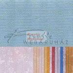 Kreatív hobby - Domborított papír - Virág, pillangó, 120gr.