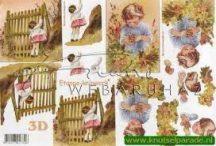 Kislány a kertben, Fázisos 3D