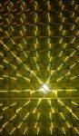 Hologrammos, lencsés papír