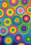 Kreatív hobby - Transzparens papír - Kör mintás