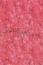 Transzparens papír - Pink Hortenzia