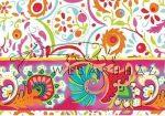 Kreatív hobby - Transzparens papír - Narancsos színű Népi