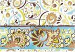 Kreatív hobby - Transzparens papír - Kékes színű Népi