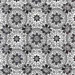 Fekete - Fehér Virág