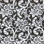 Kreatív hobby - Transzparens papír - Fekete- Fehér Arab