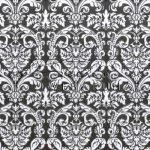 Kreatív hobby - Transzparens papír - Fekete- Fehér Díszes