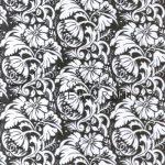 Kreatív hobby - Transzparens papír - Fekete- Fehér Ornament