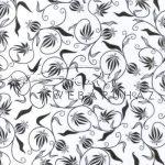 Kreatív hobby - Transzparens papír - Fekete- Fehér Nosztalgia