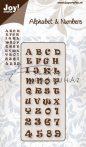 Betűk 0141 acél vágósablon