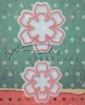 Kreatív hobby - Virág motívumok 0160 acél vágósablonok