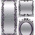 Tükör matricák
