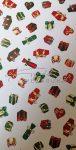 Kartonpapír -Karácsonyi ajándék mintás