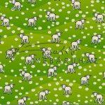 Kreatív hobby - Transzparens papír - Bárányos, zöld