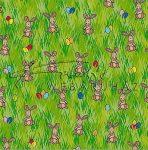Kreatív hobby - Transzparens papír - Nyúlas, zöld