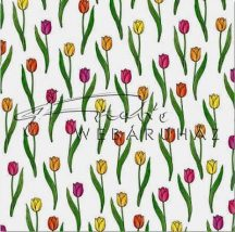Tulipán, Transzparens papír - 10 lap/csomag