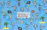 Kreatív hobby - Transzparens papír - Kalózos