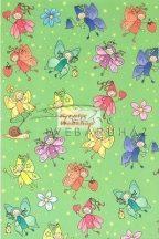 Transzparens papír - Virágtündéres