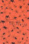 Kreatív hobby - Transzparens papír - Pók, Halloween, narancs