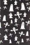Kreatív hobby - Transzparens papír - Szellem, Halloween, fekete