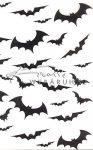 Kreatív hobby - Transzparens papír - Denevér, Halloween