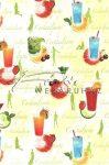 Kreatív hobby - Transzparens papír - Koktélok