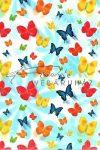 Kreatív hobby - Transzparens papír - Színes Pillangók