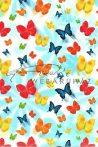 Transzparens papír - Színes Pillangók