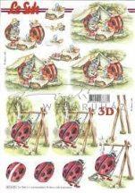 Katicák, Fázisos 3D