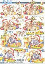Karácsony kutyusokkal, Fázisos 3D