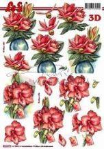 Rózsaszín virágok, Fázisos 3D