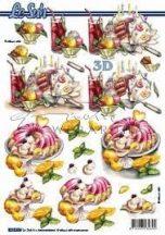Sütemény Fázisos 3D