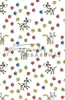 Transzparens papír - Kutya- Cica