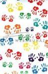 Kreatív hobby - Transzparens papír - Kézlenyomat