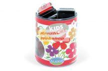 Festékpárna készlet, Alapszínek 10 szín: fekete, fehér, drapp, barna, sötétzöld, sötétkék, rózsaszín, pink, piros, sárga